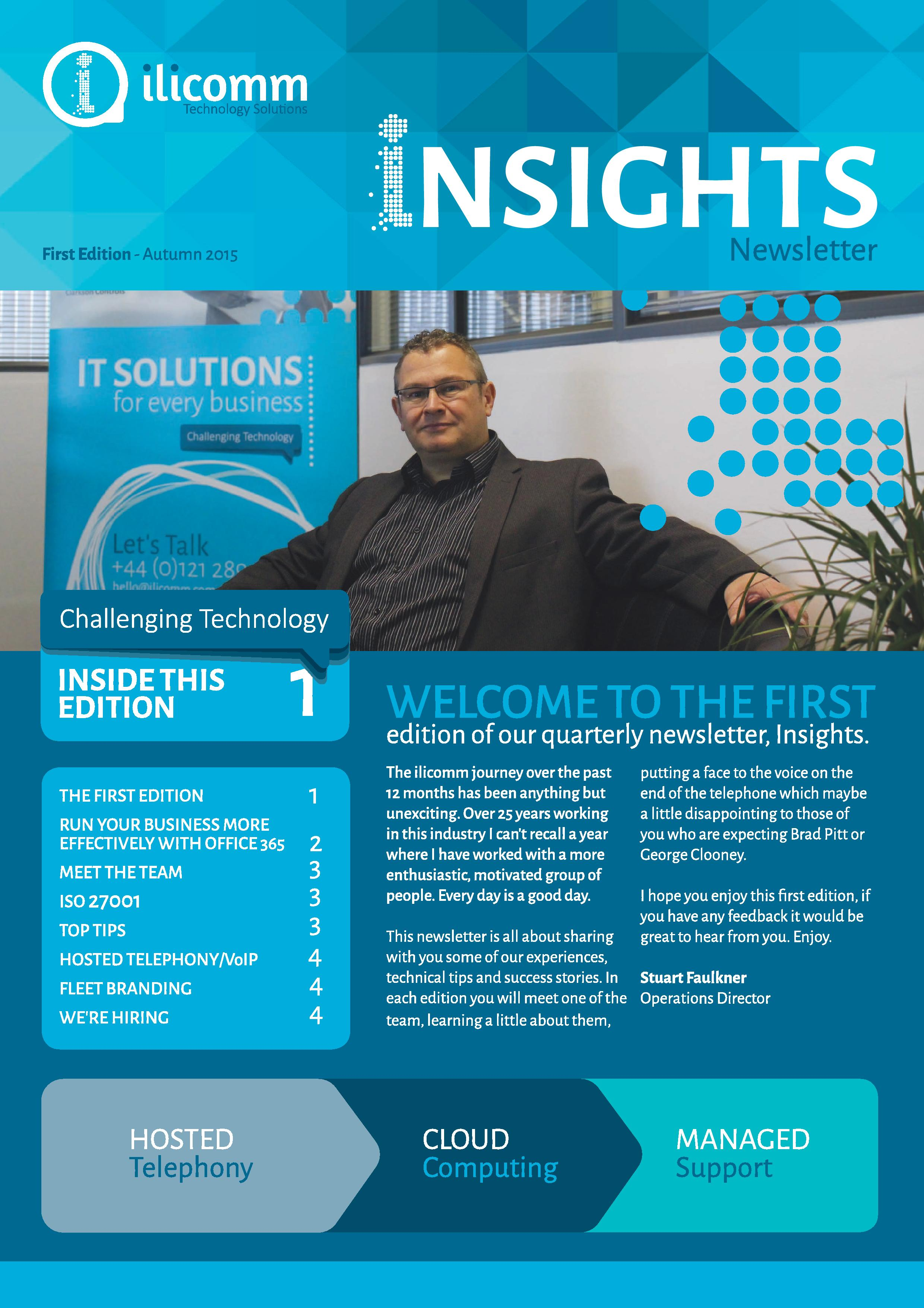 ilicomm Autumn 2015 newsletter now available ilicomm Technology Solutions